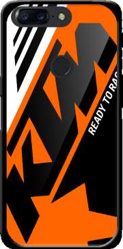 Funda KTM Racing Orange And Black para OnePlus 5T
