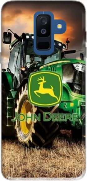 Funda John Deer tractor Farm para Samsung Galaxy A6 Plus 2018