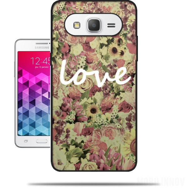 Love Wallpaper For Grand Prime : carcasa Vintage Love para Samsung Galaxy Grand Prime