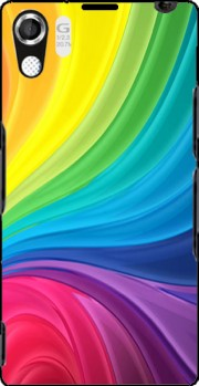 Rainbow Abstract Carcasa para Sony Xperia Z1