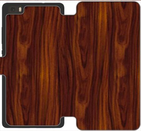 carcasa madera huawei p9