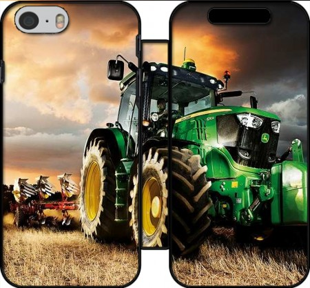 Funda Cartera John Deer tractor Farm para Iphone 6 4.7