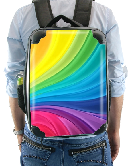 Rainbow Abstract para Mochila