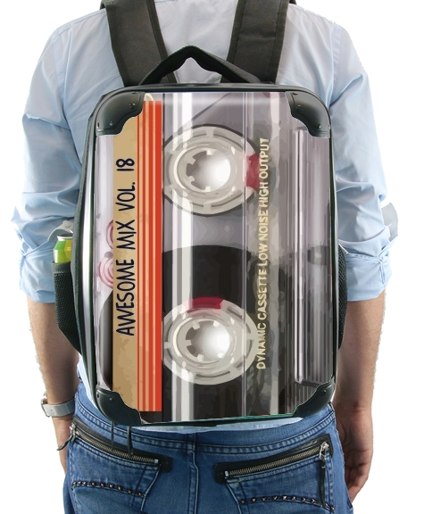 Awesome Mix Cassette para Mochila