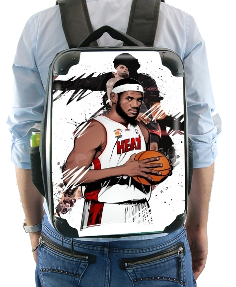 Basketball Stars: Lebron James para Mochila