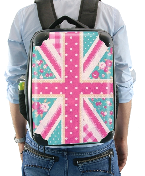 British Girls Flag para Mochila