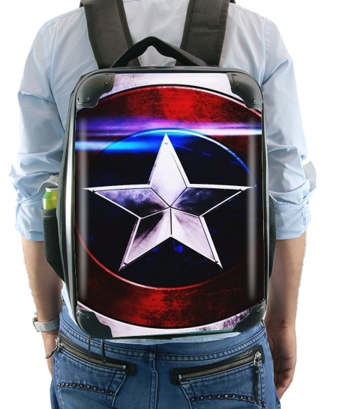 Captain America Shield para Mochila