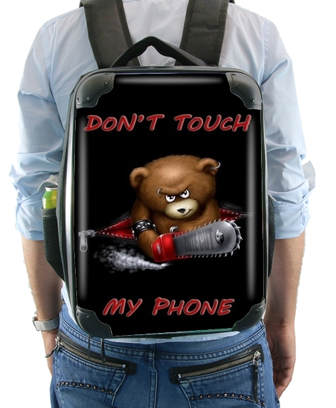 Don't touch my phone para Mochila