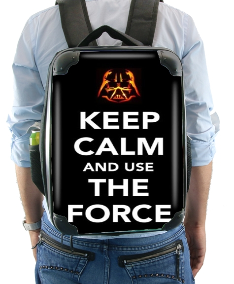 Keep Calm And Use the Force para Mochila
