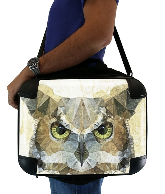 abstract owl para bolso de la computadora