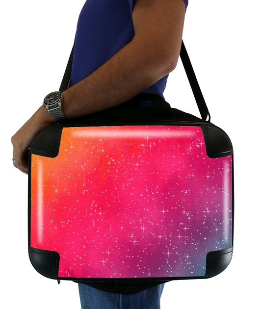 Colorful Galaxy para bolso de la computadora