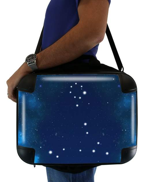 Constellations of the Zodiac: Pisces para bolso de la computadora