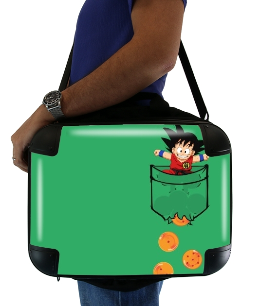 Pocket Collection: Goku Dragon Balls para bolso de la computadora