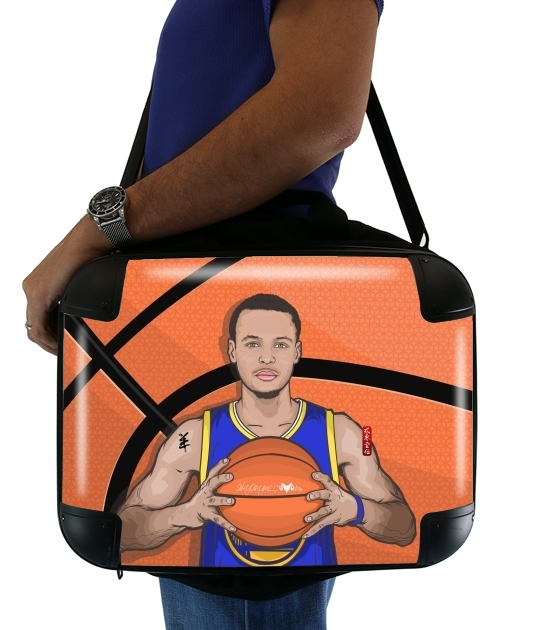 The Warrior of the Golden Bridge - Curry30 para bolso de la computadora