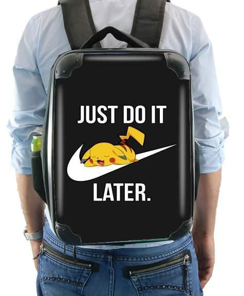 04bf620dac6 Nike Parody Just Do it Later X Pikachu Mochila