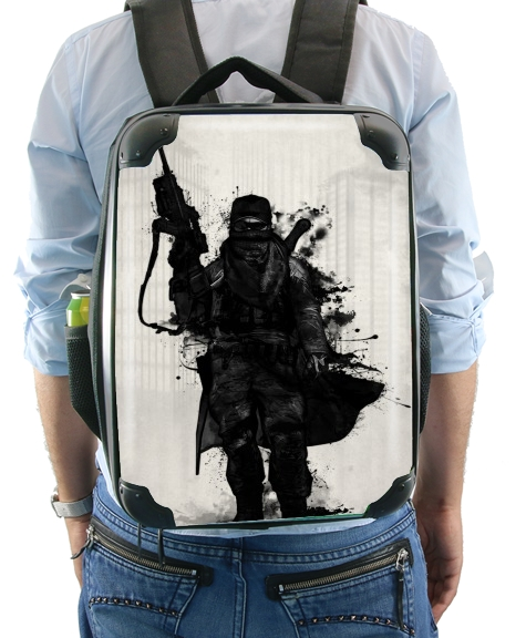 Post Apocalyptic Warrior para Mochila