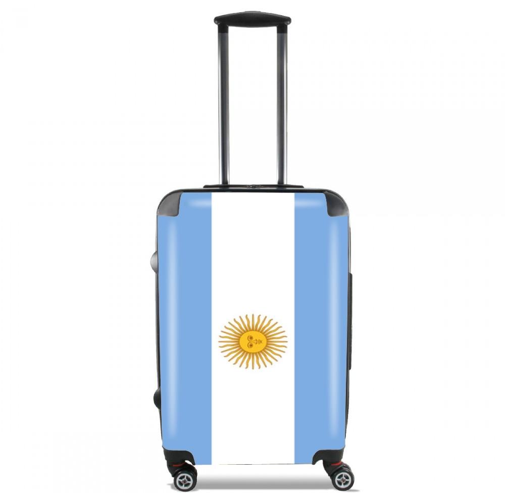 Bandera argentina tama o de cabina maleta for Cabine del fiume bandera