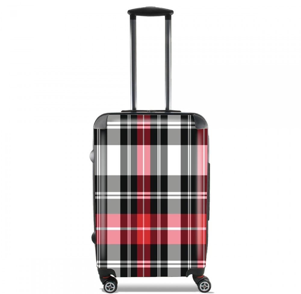 Red Plaid para Tamaño de cabina maleta